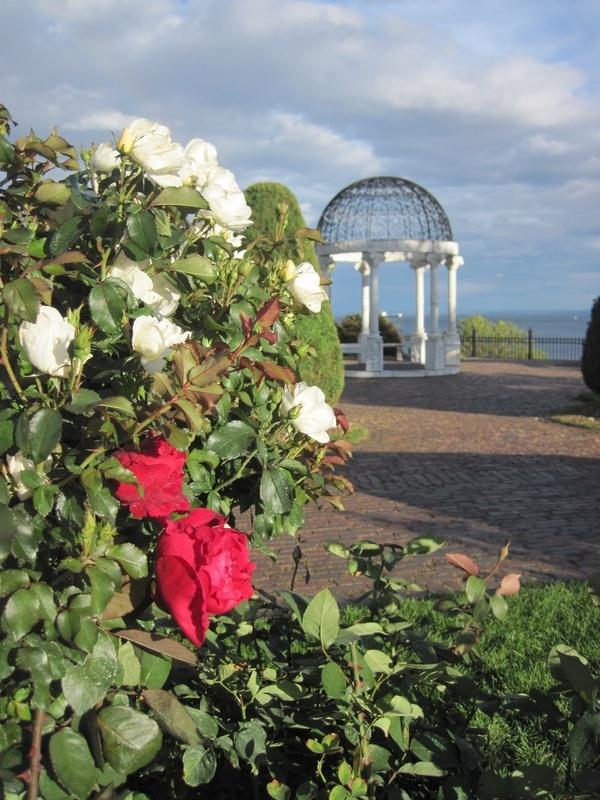 Leif Erikson Rose Garden Gazebo